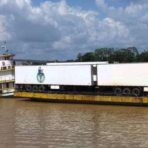 Transporte Fluvial de Cargas