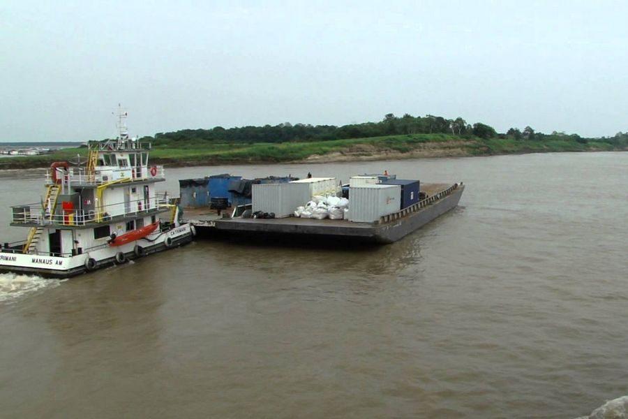Transporte em Balsa Manaus x Coari x Manaus
