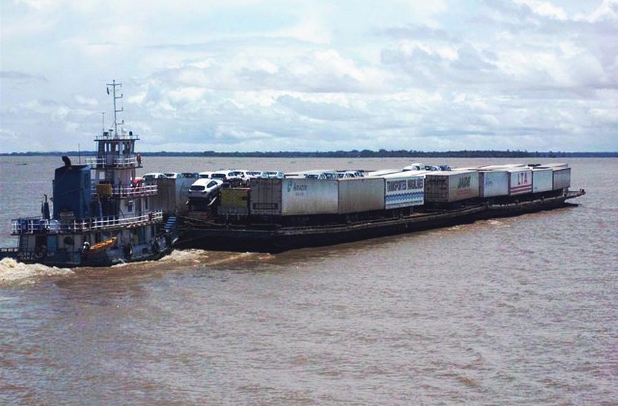 Transporte de Carro em Balsa Manaus x Porto Velho